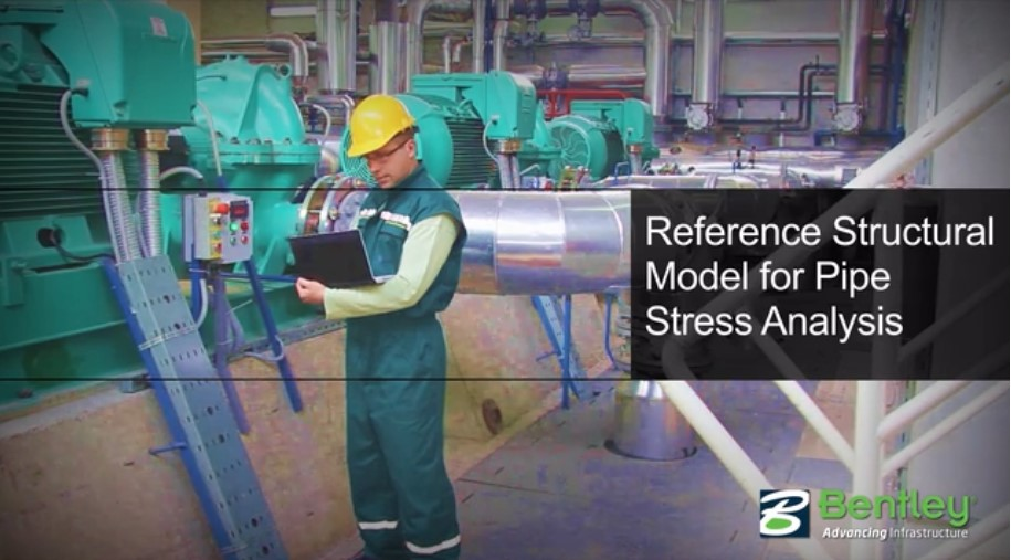 AutoPIPE_Reference structural model for pipe stress analysis