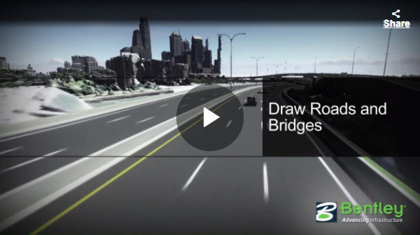 OpenRoads ConceptStation - Draw Roads and Bridges